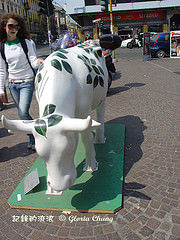 【CowParade Milano 2007】By twos and threes 三三兩兩